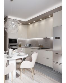 66 inspiring kitchen cabinet colors and ideas that will blow you away best decor kitchen ideas - Modern Kitchen Kitchen Room Design, Kitchen Cabinet Colors, Modern Kitchen Design, Home Decor Kitchen, Interior Design Kitchen, Kitchen Ideas, Kitchen Inspiration, Diy Kitchen, Kitchen Designs