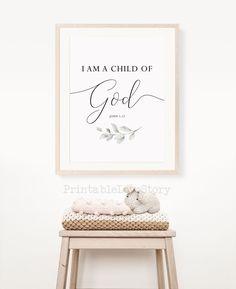 Nursery Bible Verses, Or Mat, Christian Wall Art, Printable Quotes, Baby Room Decor, Wall Art Sets, Botanical Prints, Nursery Wall Art, As You Like