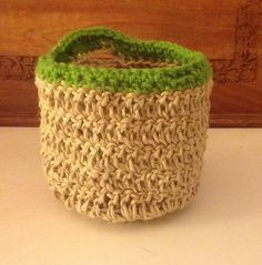 fabric twine crochet - Google Search