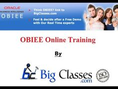 http://www.bigclasses.com/obiee-online-training.html Oracle Business Intelligence Foundation Suite (OBIEE+ and Essbase) is a complete, open, and architecturally unified business intelligencesystem for the enterprise that delivers abilities for reporting, ad hoc query and analysis, online analytical processing (OLAP), dashboards, and scorecards.