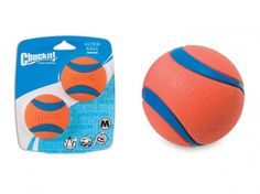 Chuck-It Ultra Ball 2 / Pack Natural Rubber for sale online Dogs For Sale, Fun Time, Good Times, Pet Supplies, Toy, Exercise, Pets, Ejercicio, Clearance Toys