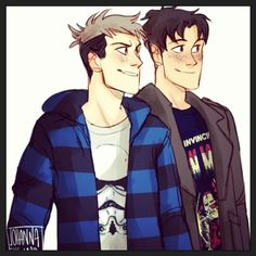 Attack on Titan ~~ Star Wars Nerds :: Marco and Jean by johannathemad.tumblr.com
