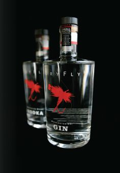 Dry Fly Gin, for those who are drinking when their not fishing lol #packaging