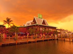 Doc Fords Rum Bar & Grill. A favorite spot in Fort Myers Beach and Doc Ford's Sanibel Rum Bar & Grill on Sanibel Island.