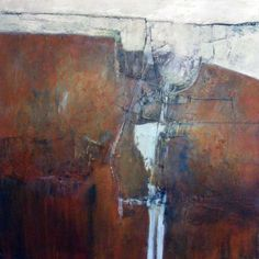 (Pete Wray - my print tutor at Ripon & York many moons ago - brilliant printmaker & thoroughly lovely! Contemporary Landscape, Abstract Landscape, Landscape Paintings, Abstract Art, Painting Collage, Painting Techniques, All Art, Painting Inspiration, Collagraph