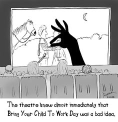 In honor of Bring Your Child to Work Day