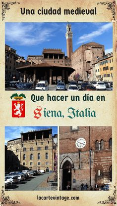 Being in Florence Italy, an almost obligatory visit is to the neighboring city of Siena. Here I tell you how to go to Siena from Florence and some suggestions of what you can do one day in Siena. Italy Travel Tips, Rome Travel, Spain Travel, France Travel, Travel Destinations, One Day Trip, Day Trips, Siena Italia, Italia Toscana