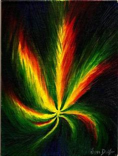 """Marijuana Leaf"" by Jenn Delfs"