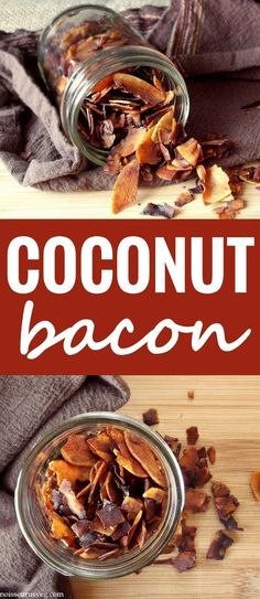 Coconut Bacon - Had this is an amazing sandwich in New York, definitely going to try making it!