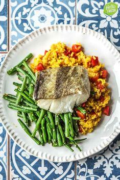 Hello Fresh Recipes, Happy Foods, Vegetarian, Healthy Recipes, Fish, Dinner, Fodmap, Drinks, Health Recipes