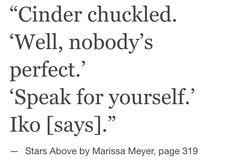 Lunar Chronicles Quotes, Marissa Meyer Books, This Is A Book, Cute Stories, Cinder, Dream Guy, Book Fandoms, Book Stuff, Book Series