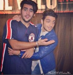 Ignazio and Gianluca at a meet & greet after the concert!
