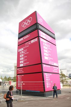 london olympics 2012: the look of the games - Wayfinding Beacon