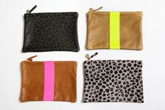 Refinery29 and Clare Vivier Limited Edition Clutches These drop-dead accessories stun in classic silhouettes punched up with edgy-chic combinations of neon, leopard, and leather — perfect for everything from running errands to work-a-day appointments to hitting the town. $150, available at Refinery29 Reserve #refinery29 http://www.refinery29.com/reserve-collection-ultimate-curated-wish-list#slide-1