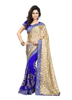 http://www.sareesaga.in/index.php?route=product/product&product_id=22668 Style:Half N Half SareeShipping Time:10 to 12 Days Occasion:Party Festival ReceptionFabric:Faux Chiffon Brasso Colour:Blue Beige Work:Embroidered Zari Work Lace For Inquiry Or Any Query Related To roduct, Contact :- 91-9825192886, +91-405449283