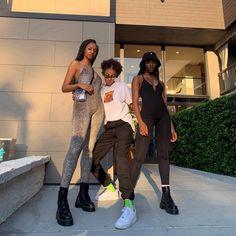 we are heroes Vaporwave, 90s Fashion, Fashion Outfits, Fashion Women, Fashion Ideas, Black Girl Aesthetic, Friend Photos, Girl Gang, Black Girl Magic