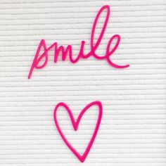 Hey you! Smile 💗