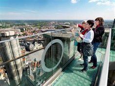Sky walk, Mechelen #Flanders #Belgium