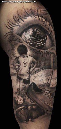 Tatuaje hecho por Miguel Angel Sanchez Cabello de Barcelona (España). Si quieres ponerte en contacto con él para un tatuaje/diseño o ver más trabajos suyos visita su perfil: https://www.zonatattoos.com/deysitattoo Si quieres ver más tatuajes sobre fútbol visita este otro enlace: https://www.zonatattoos.com/tag/121/tatuajes-sobre-futbol Más sobre la foto: https://www.zonatattoos.com/tatuaje.php?tatuaje=108853