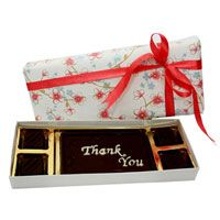 Want to say thanks to your friend but confused about how? We have brought a beautiful way to give gratitude. Send this delicious personalized #chocolate gift. Visit now : http://www.fnp.com/chocolate/personalised-chocolates-1-349-t.html