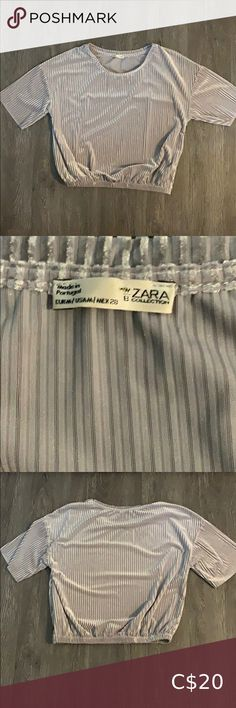 I just added this listing on Poshmark: Zara WB Collection Ribbed Crop Top. #shopmycloset #poshmark #fashion #shopping #style #forsale #Zara #Tops White Lace Crop Top, Sequin Crop Top, Ribbed Crop Top, Lace Crop Tops, Stylish Outfits, Stylish Clothes, Zara Lace Top, Leather Crop Top, Designer Purses