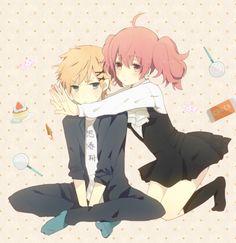 Karuta and Watanuki