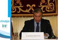 D. Bartolome Beltrán, Director médico de A3media.  Moderador de la mesa redonda.