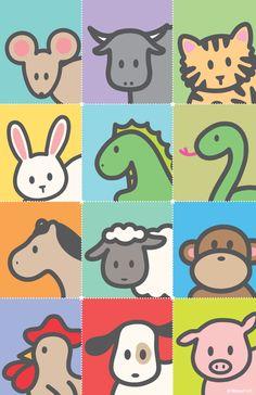 Wanart 2012 - Poster of Zodiac Zoo