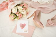 One hour before a wedding ceremony Premium Photo Pink Wedding gown, with pink shoes also and pink flowers Wedding Menu Template, Wedding Invitation Card Template, Watercolor Wedding Invitations, Elegant Wedding Invitations, First Wedding Night, Pink And White Background, Pink Wedding Gowns, Vintage Wedding Cards, Photoshop