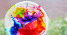 Tvoření s dětmi - hraní s barvami