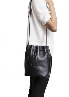 ECOSPHERE • ekologiska & etiska kläder & accessoarer - Moyi Moyi - Apapa Bucket Bag, Black