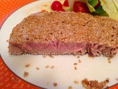 Due Svitate in cucina: Filetto di tonno al sesamo e vino bianco