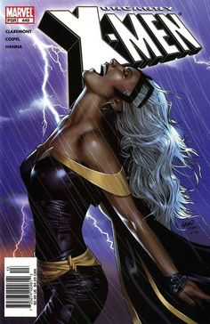 My favorite X-men Storm the Weather Goddess.