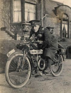 motorcycles in the ww 1