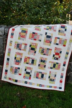 PDF quilt PATTERN baby quilt and lap quilt sizes.... par sweetjane, $9.00