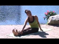 Exercice thérapeutique pour le nerf sciatique - Assis - Lisa McLellan - YouTube