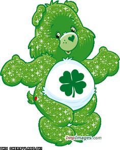 Good Luck Bear- reminds me of my sister. He was her favorite.