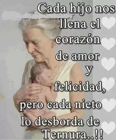 Los nietos.... Best Quotes, Love Quotes, Inspirational Quotes, I Love My Son, Love You, Simpsons Frases, Quotes About Grandchildren, Grandmother Quotes, Happy Wishes