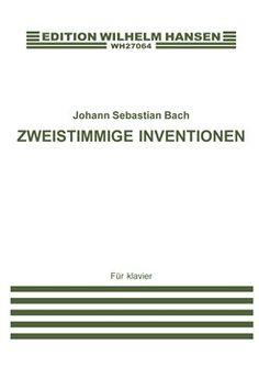 Johann Sebastian Bach: Zweistimmige Inventionen (Piano)|2 voices|Edwin Fischer