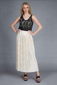 evening dress #plisse #lace #bymalenebirger