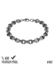 Axcesi 1517  Stainless steel chain bracelet thickness by Axcesi