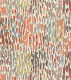 Kelly Ripa Upholstery Fabric-Make It Rain Nectar