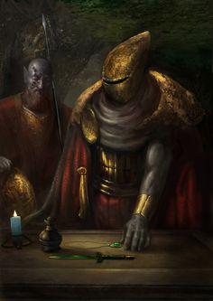 Morrowind+graves+of+ancestors+by+IgorLevchenko.deviantart.com+on+@DeviantArt