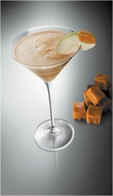 Caramel Martini Cocktail Recipe