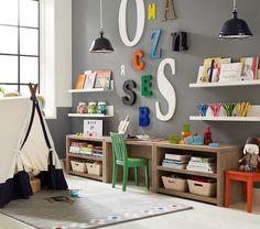 Toddler Crafting Desk