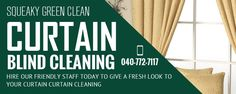 This week special on Curtain And Blind Cleaning Melbourne 10% off. Hurry up! Limited time availability.  http://squeakygreenclean.com.au/services/curtain-blind-cleaning-melbourne/