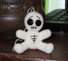 Cute Amigurumi Skeleton Doll Free Crochet Pattern - BrianaDragon ...