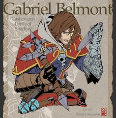 【Castlevania Lords of Shadow】 Gabriel Belmont fan art. Castlevania Games, Castlevania Anime, Castlevania Netflix, Castlevania Lord Of Shadow, Fantasy Words, Fantasy Rpg, Belmont Castlevania, Game Character, Character Design