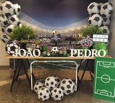 Soccer Theme Parties, 10th Birthday Parties, Soccer Party, Grad Parties, Party Themes, Sports Birthday, Boy Birthday, Baby Shower Niño, Psg