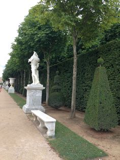 In the gardens at Versailles